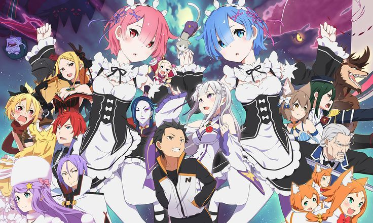 Anime ReZERO Starting Life in Another World Rem (Re