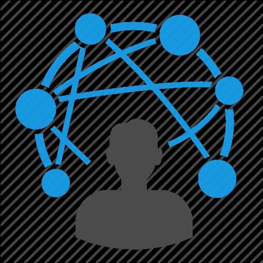 Connections Icon Data Icon Pictogram Design Icon