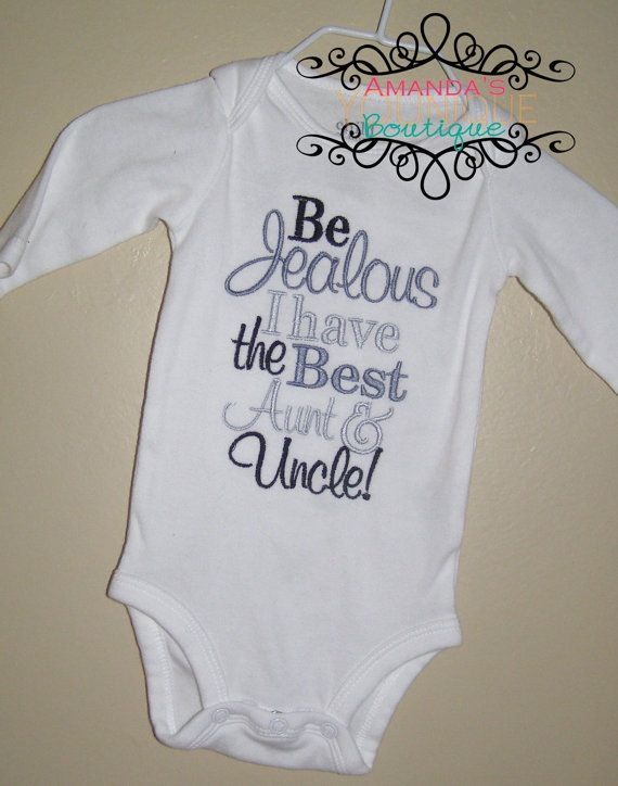 Allie definitely needs this, but we could leave off the uncle and personalize it to say Aunt Jenni! :)