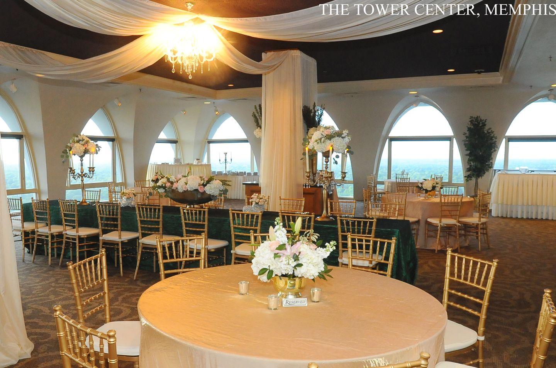 Wedding at The Tower Center Banquet hall, Memphis