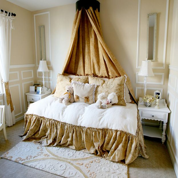 A Girl S Bedroom With A French Flair