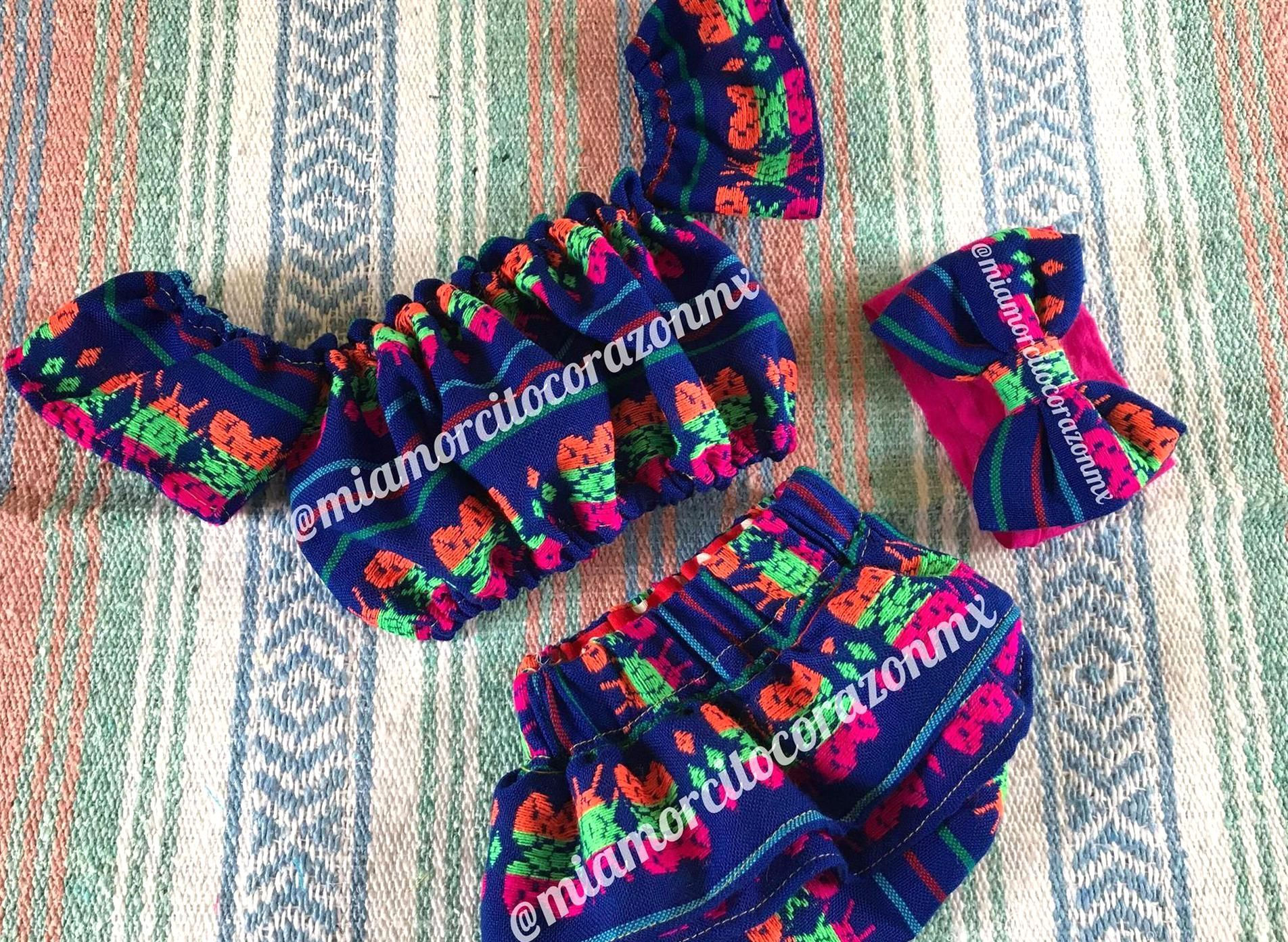 Mexican blouse mexican skirt mexican party fiesta mexicana day of the dead cinco de mayo frida first birthday cambaya uno fiesta 12m