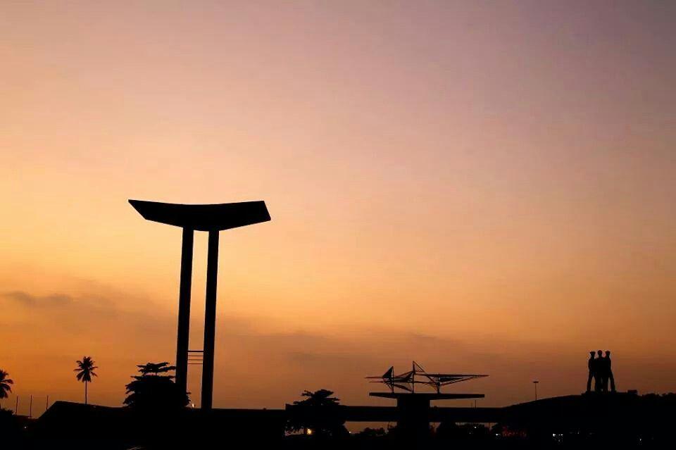 #amanhecer no Aterro do Flamengo!