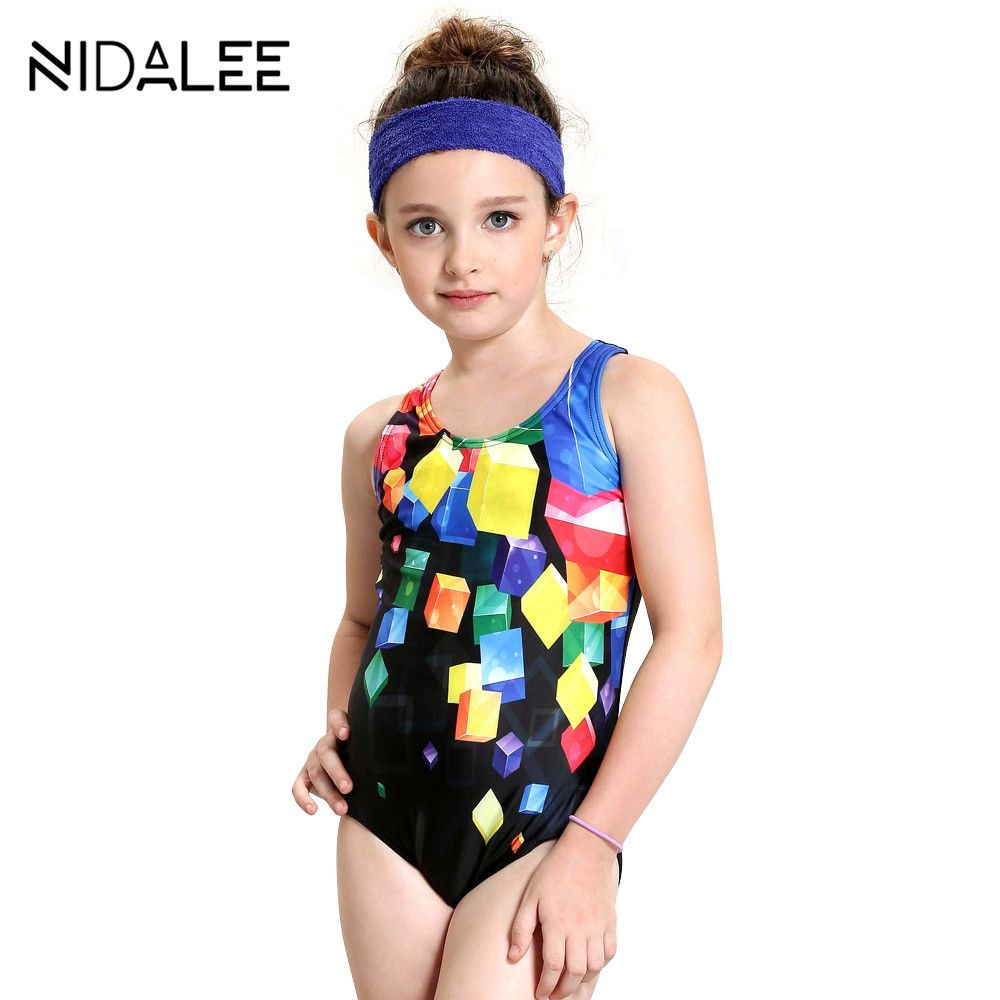 10d85c54e90 Girls Swimsuit One Piece Swimwear Brand Baby Girl Swimwear Kids ...