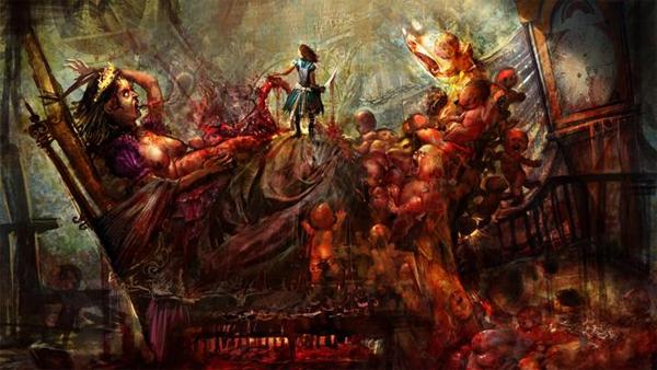 Alice Madness Returns, Bloody Births