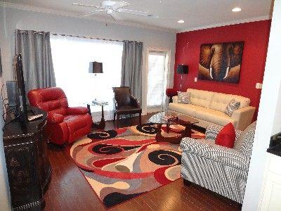 Alabama Crimson Tide Themed Tv Room