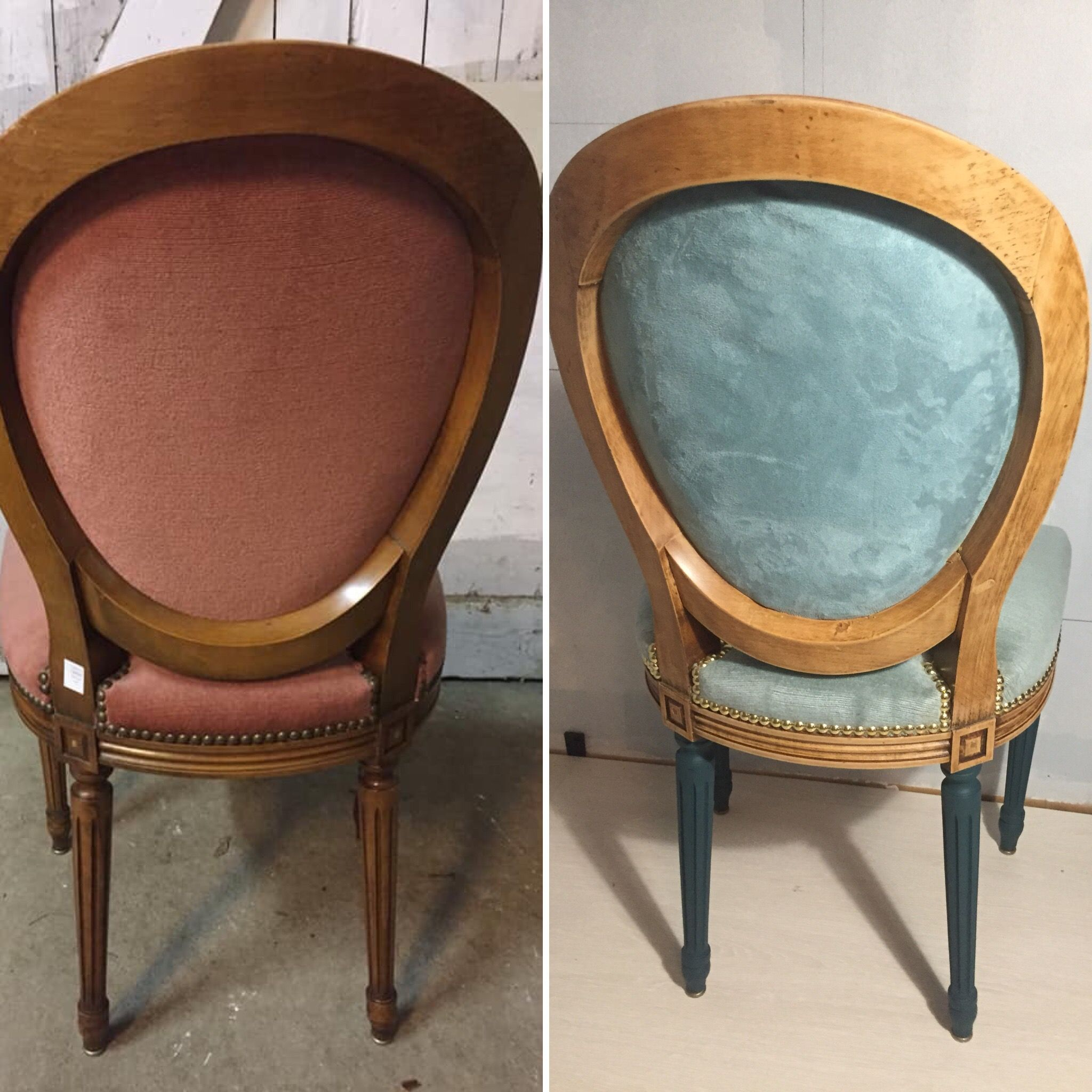 Comment Tapisser Une Chaise Ancienne retapisser une chaise avec clous tapissiers, restaration