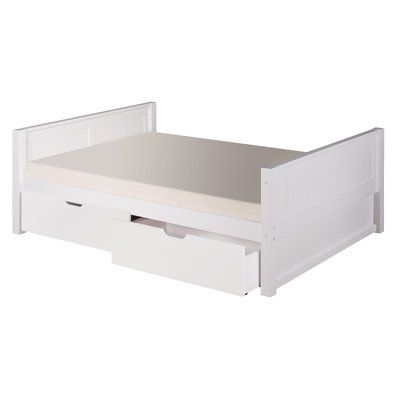 Viv + Rae Isabelle Full/Double Platform Bed with Storage Finish: White