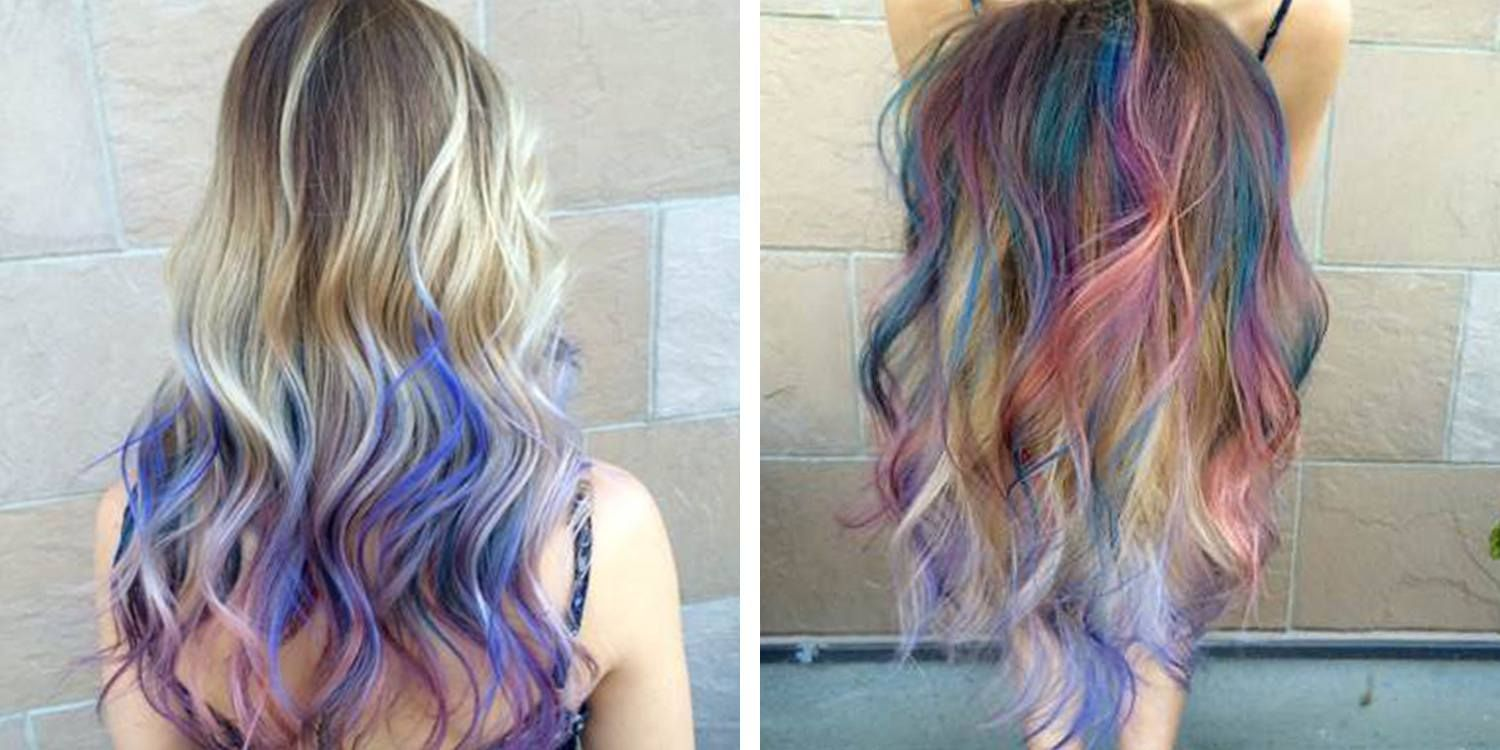 Bright Pastel Hair Color Trend Hair Color For Fair Skin