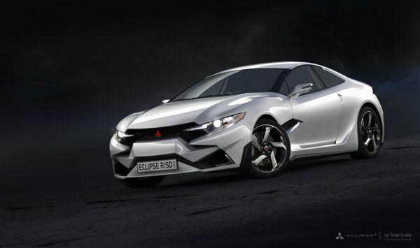 Mitsubishi Eclipse 2016 >> Mitsubishi Eclipse R Concept 2015 On Behance Mitsubishi
