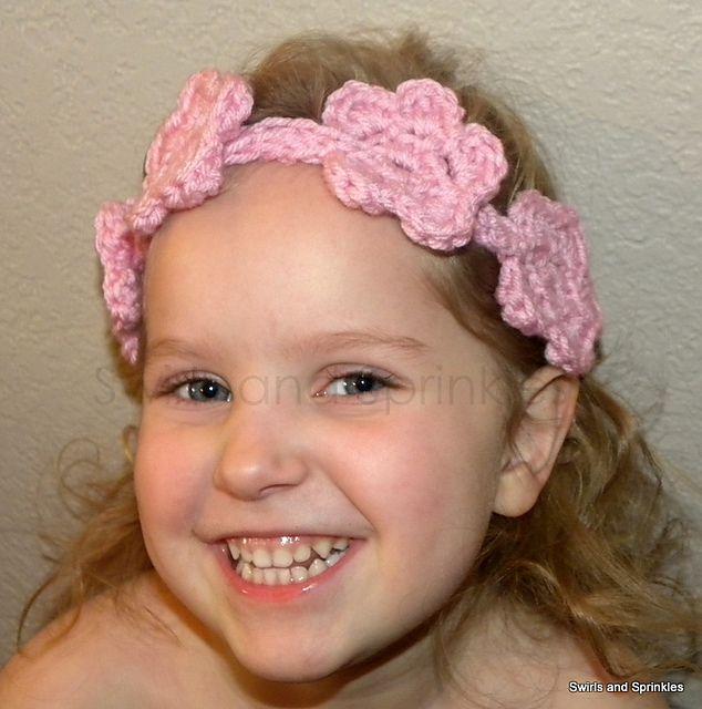 Ravelry: Flower Headband pattern by Becky Ferris   Crochet Free ...