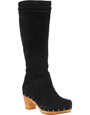 asos fashion finder ugg rosabella long heeled clog boots shoes rh pinterest com