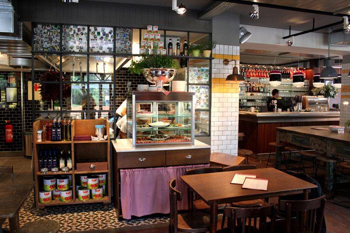 L osteria italian restaurant by dippold innenarchitektur for Interior design gmbh