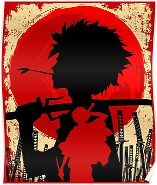 71145e411dd4 Samurai sunset Mugen | Poster | Products | Japanese streetwear ...
