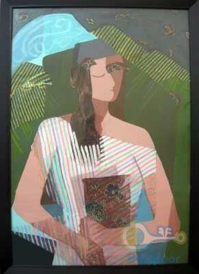 تابلو نقاشی کوبیسم 250,000 تومان