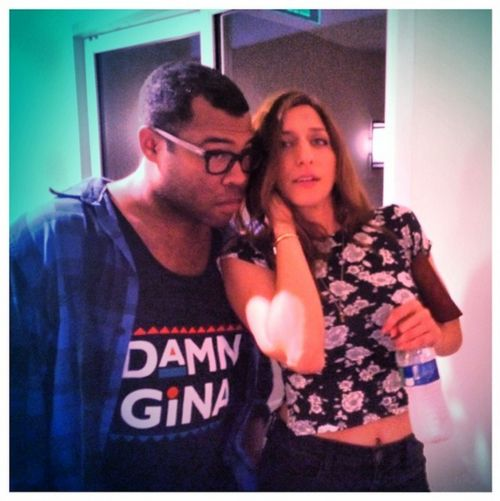 Chelsea Peretti And Jordan Peele My Sis Brother In Law Chelsea Peretti Jordan Peele Chelsea