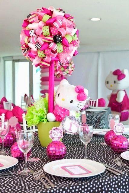 Ideas de Fiesta Temtica de Cumpleaos Hello Kitty HELLO KITTY