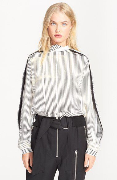 Check out my latest find from Nordstrom: http://shop.nordstrom.com/S/4104047  3.1 Phillip Lim 3.1 Phillip Lim Twisted Collar Stripe Silk Blouse  - Sent from the Nordstrom app on my iPhone (Get it free on the App Store at http://itunes.apple.com/us/app/nordstrom/id474349412?ls=1&mt=8)