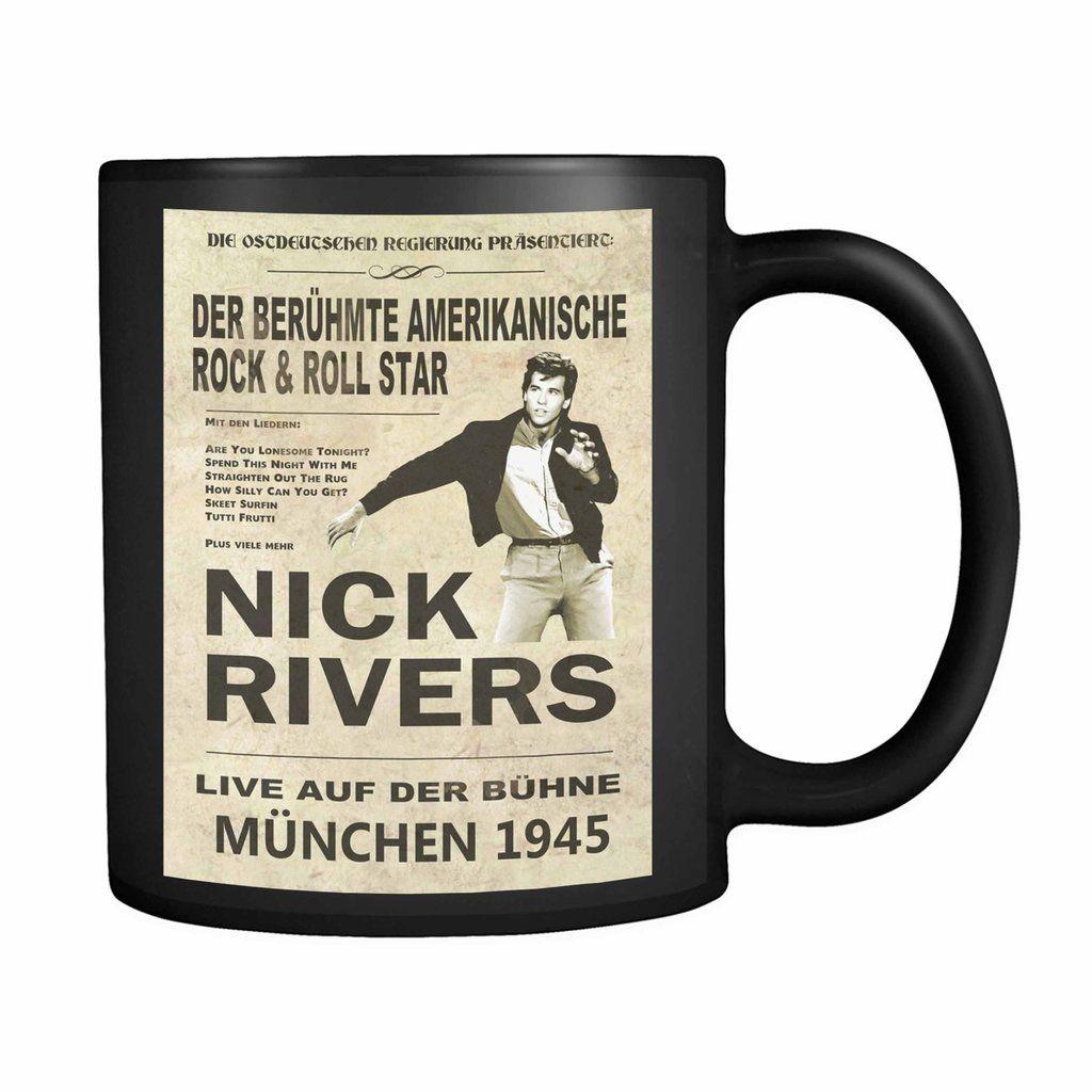 Top Secret Nick Rivers Concert 11oz Mug