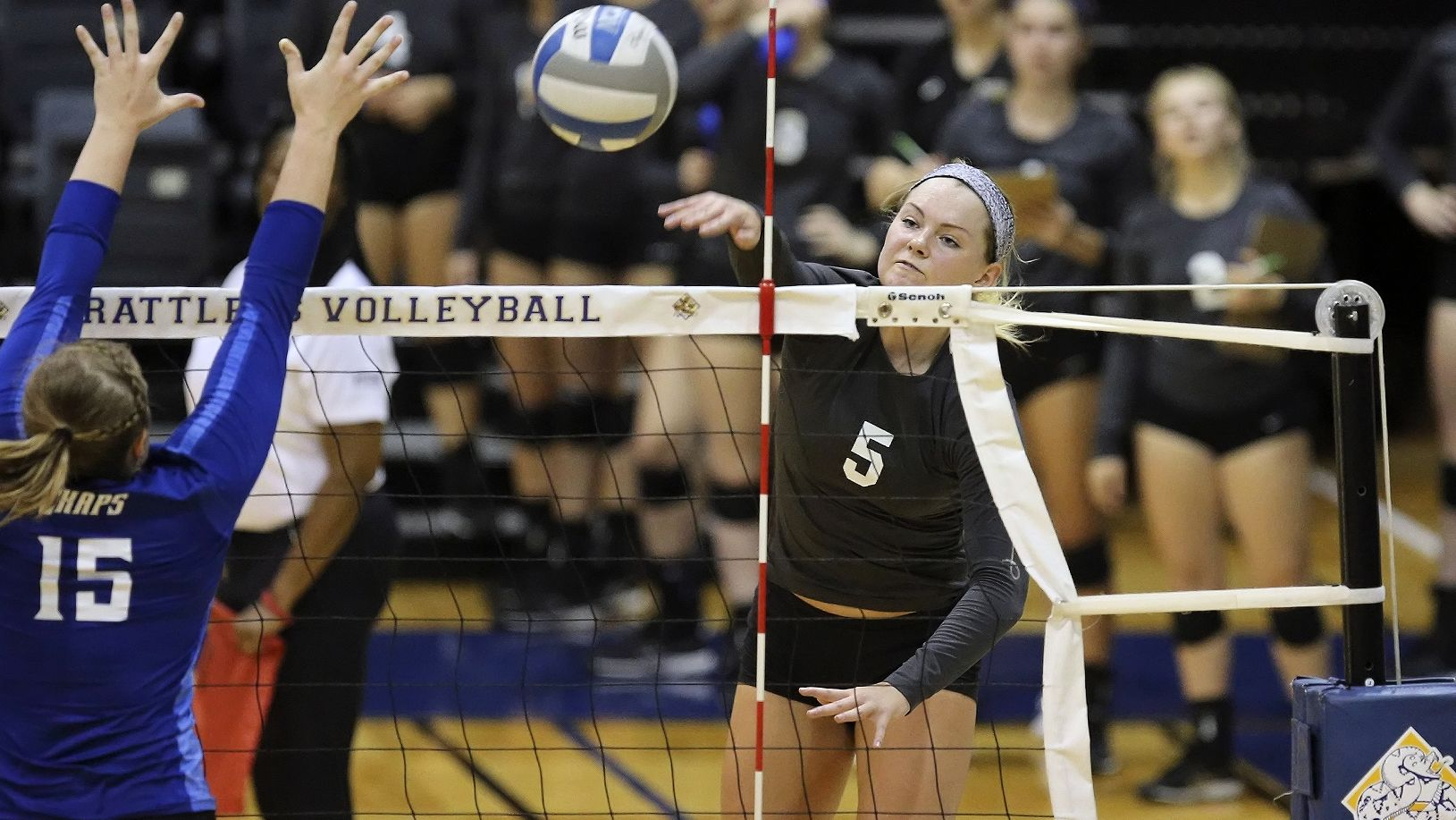 Stmu Volleyball S Channing Hankins Nets All Tournament Team Honors Tournaments Athlete Volleyballs