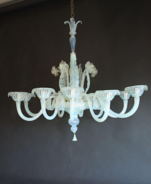 Murano oval opaline 10 arm antique chandelier circa 1920 picture 3 murano oval opaline 10 arm antique chandelier circa 1920 picture 3 arubaitofo Image collections