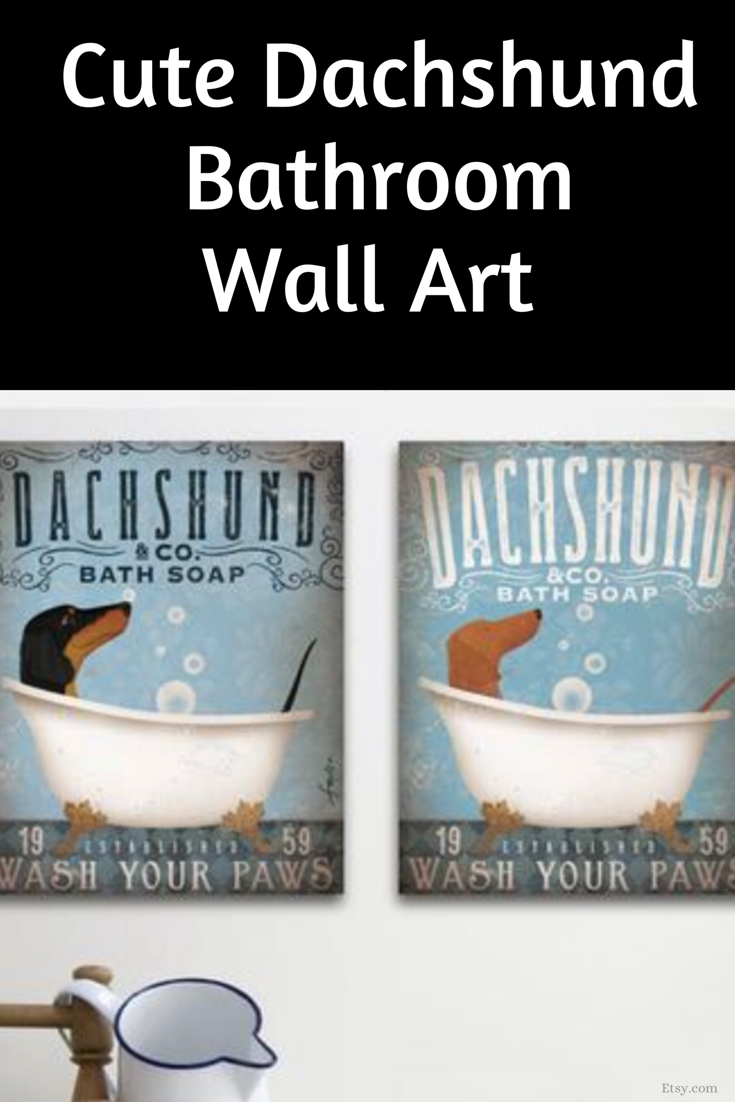 Dachshund Doxie Dog Bath Soap Company Artwork On Gallery Etsy Dog Bath Dachshund Bath Soap