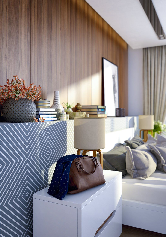 Design Inspiration – Wood Walls In The Bedroom