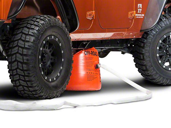 Barricade 3 Ton Wrangler Exhaust Jack J100202 87 15 Wrangler Yj