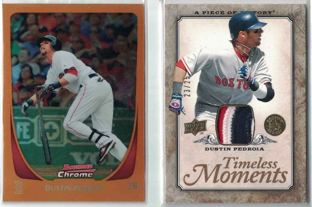 Dustin pedroia 25 lot 2008 ud timeless 2325 2011