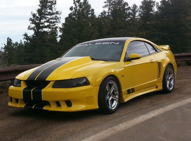 1999 Ford Mustang Saleen S281 Bfgoodrich G Force T A Kdw 295 30r18 1425 Ford Mustang Saleen Ford Mustang Ford Mustang Cobra