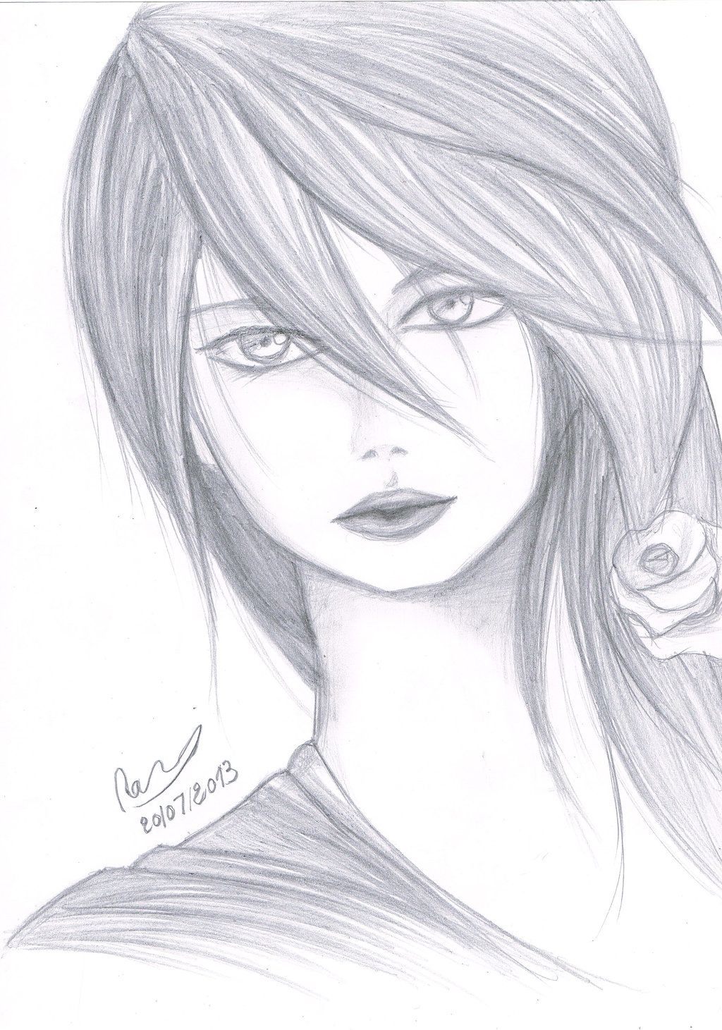 anime drawings in pencil Google Search Pencil drawings