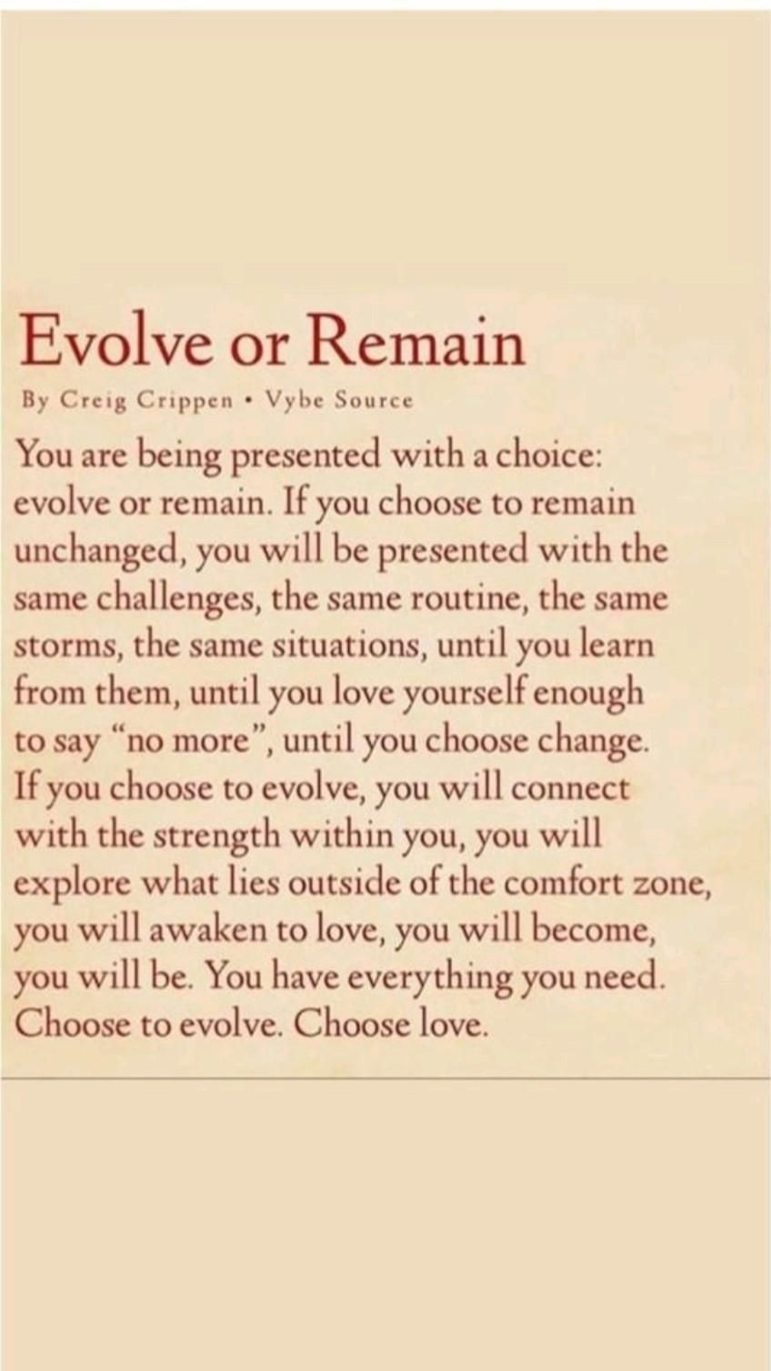 It's time to see the Growth, Clarity and to evolve in your life.  Free Resources are available.💥