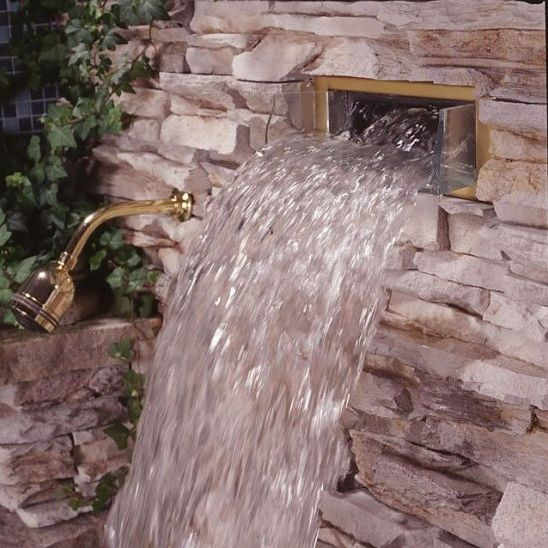 Bodyspa Waterfall Shower Head From Kohler Building