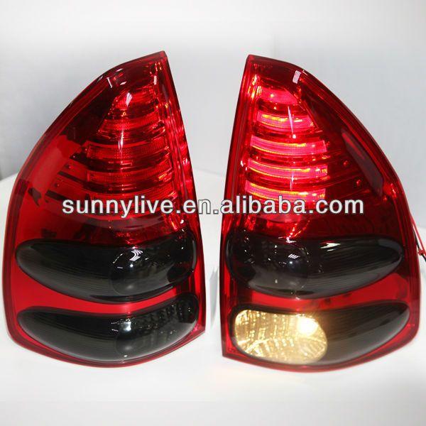 1 Lamp Type Led 2 Voltage 12v 3 Auto Back Light 4 Can Be Used In Prado Fj120 5 Led Tail Lamp Led Tail Lights Prado Light Red