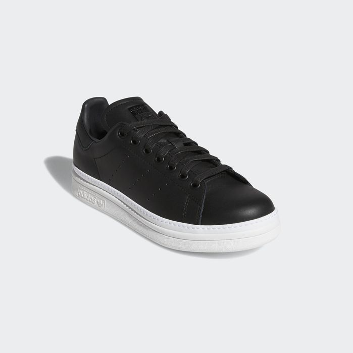 Stan Smith New Bold Shoes in 2019 | Stan smith shoes, Black ...
