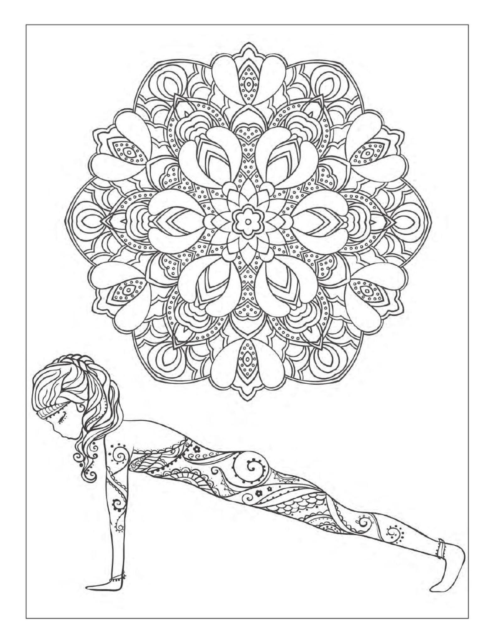 Pin By Nilam Shah On Yoga With Images Yoga Coloring Book