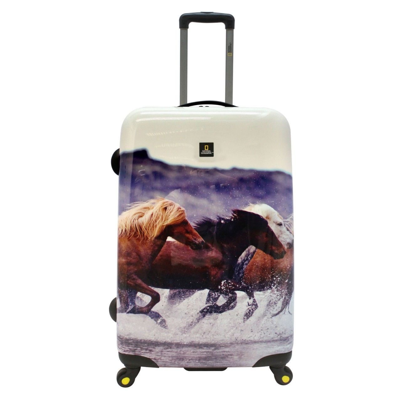 National Geographic Running Horses Trolley 78 cm 4 Rollen