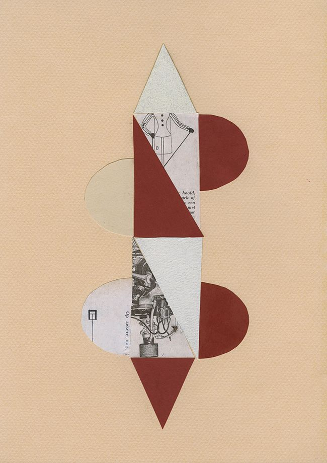 Art Magazine. For Example: collage by Denice Creugers