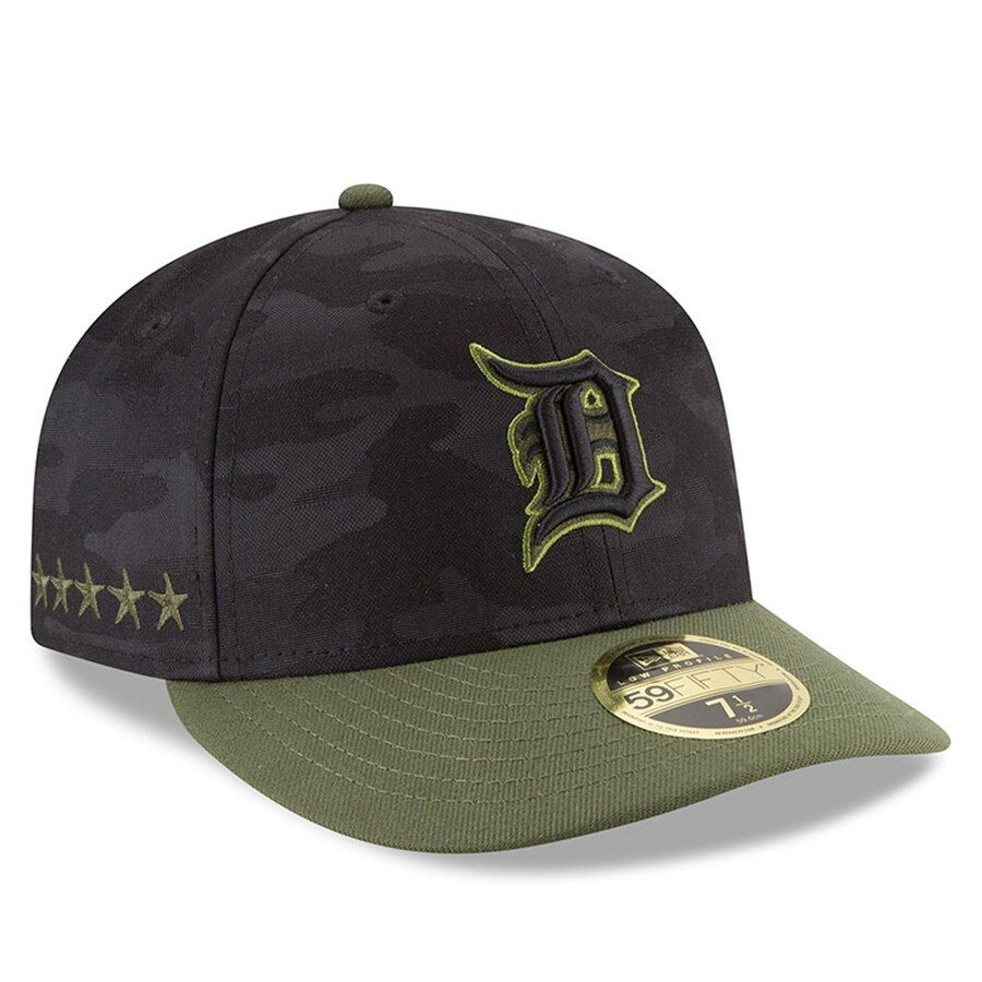 Detroit tigers new era 2018 memorial day onfield low