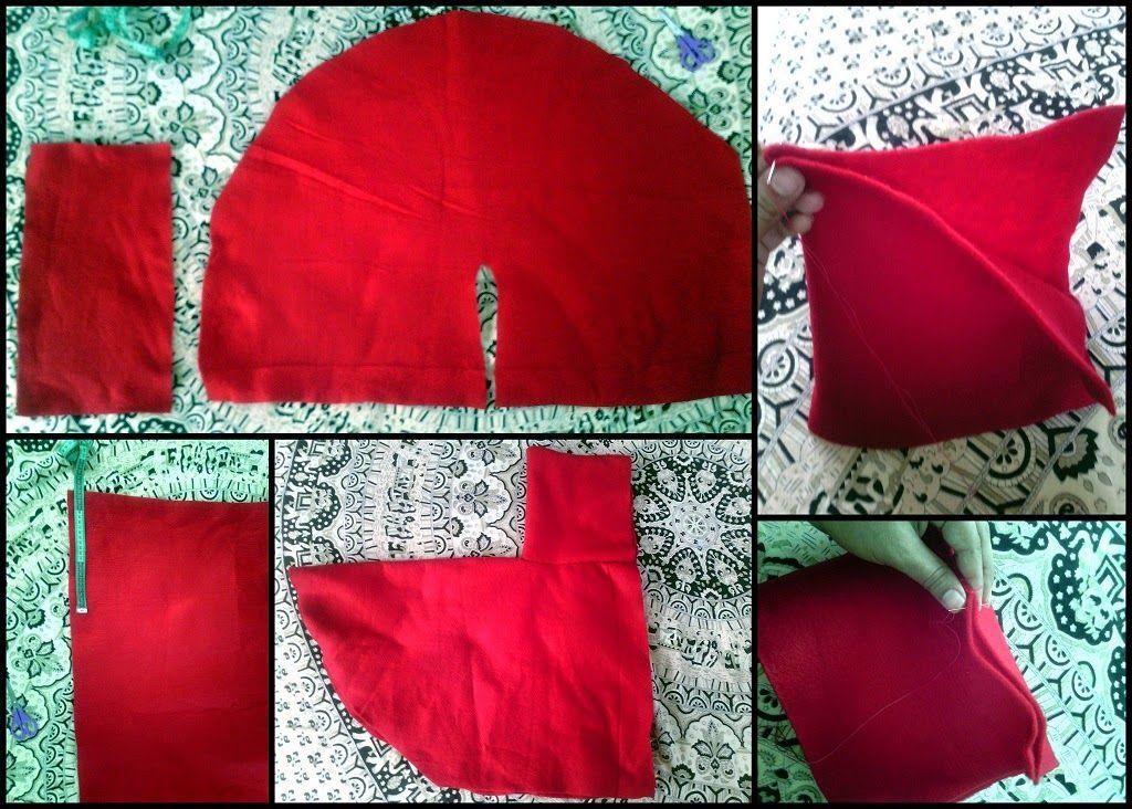 el detalle que hace disfraz rojaobjetos