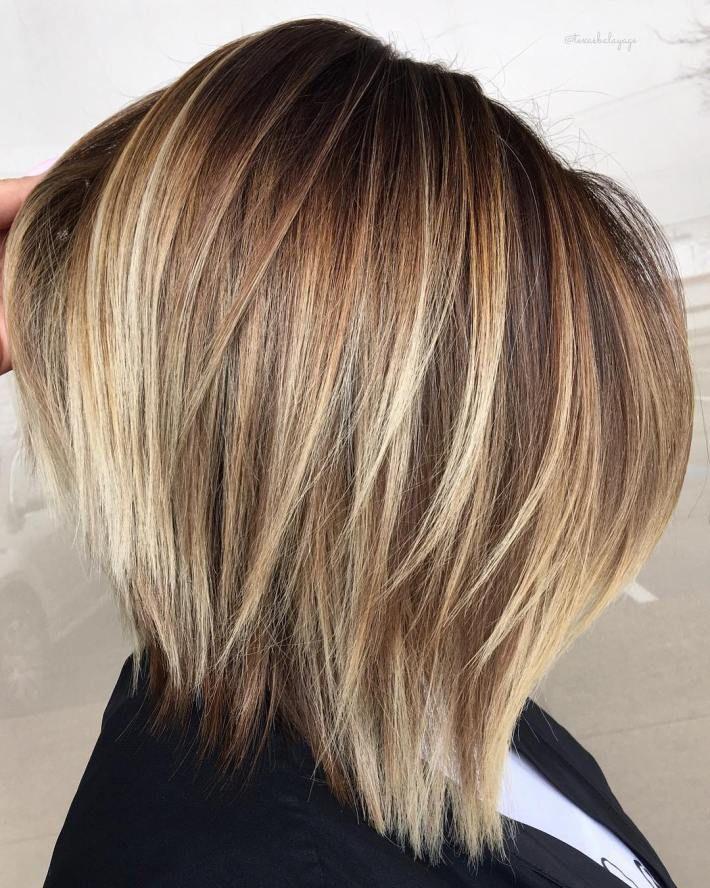 Caramel Vanilla Cream Brown Hair With Blonde Highlights Brown Blonde Hair Highlights Brown Hair Short