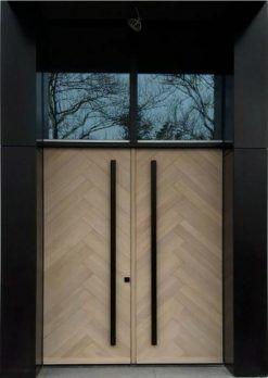 Villa Giriş Kapısı Kompak Kaplama SVE07 » Smart Çelik Kapı