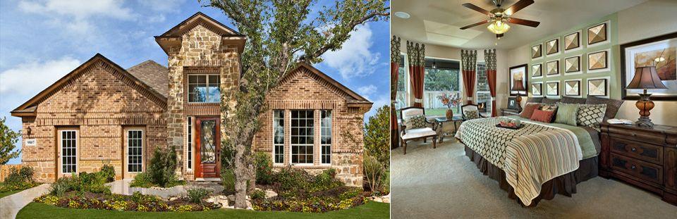Kirby plan at Ridge Creek San Antonio, TX New home