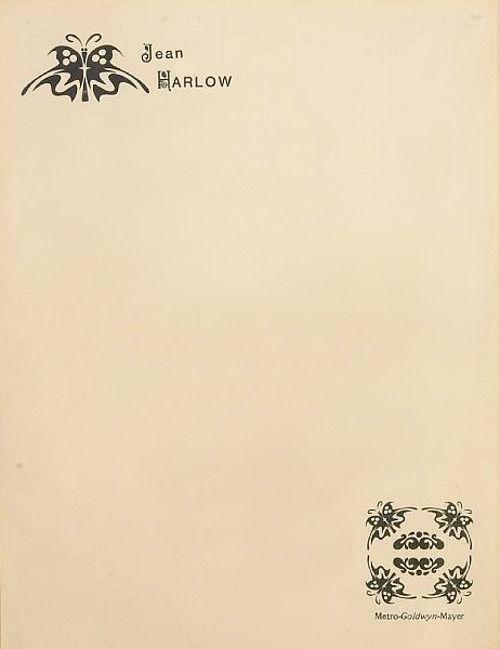 Jean Harlow, 1934 |Source