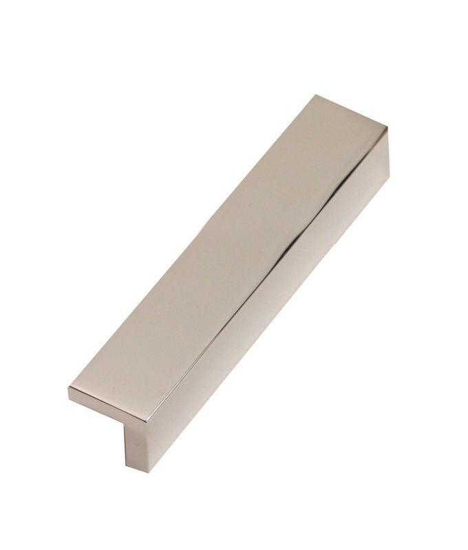Alno A960-6 Tab 6 Inch Center to Center Finger Cabinet Pull Satin Nickel Cabinet Hardware Pulls Finger
