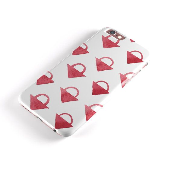 The Red Watercolor Triangular Lock - iNK-Fuzed Hard Case for