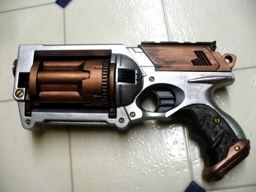 First Nerf Paint job by Kitykatyashi .