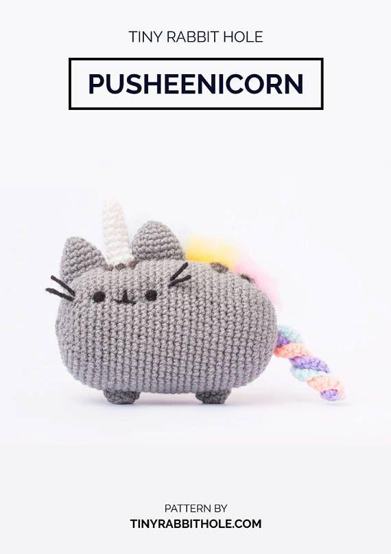Pusheenicorn Amigurumi Plush Doll DIY Crochet Pattern (Pusheen from ...