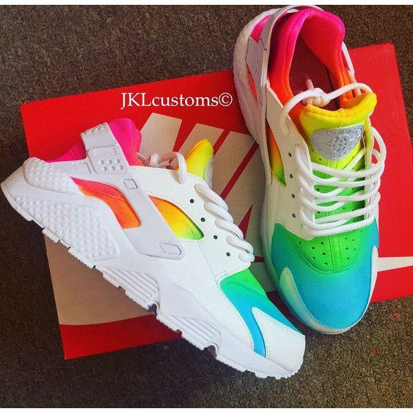 dbf4c84a599 ... Rainbows White Nike Air Huarache Nike Huarache Tie Dye Summer Huarache.