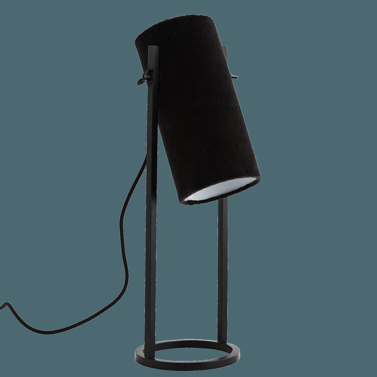 Samt Tischlampe Fur Euro Nbsp 120 99 Holzkohle Samt Tischlampe Auf Mattschwarzem Eisengestell Diese Lampe Benotigt Eine E1 In 2020 Tischlampen Lampe Lampentisch